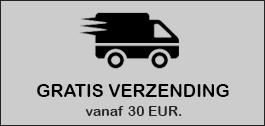 Gratis verzending vanaf €30